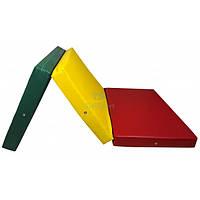 Мат складной 200-100-10 см с 3-х частей Тia-sport