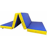 Мат складной 200-100-10 см с 4-х частей Тia-sport
