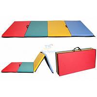 Мат складной 300-100-5 см с 4-х частей Тia-sport