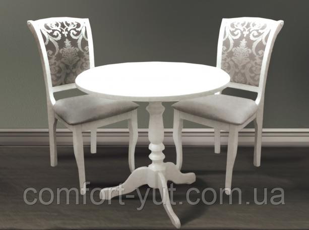 Столик кофейный Стелла  белый