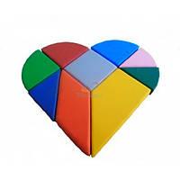 Конструктор танграм сердце