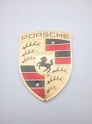 Наклейка на колпачок диска Porsche 57-43 мм