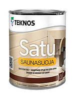 Защитное средство для вагонки в сауну Teknos Saunasuoja 0.9л.