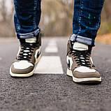 Стильні чоловічі кросівки Jordan 1 Retro, фото 2