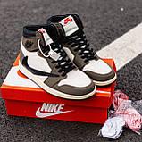 Стильні чоловічі кросівки Jordan 1 Retro, фото 4