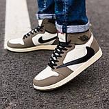 Стильні чоловічі кросівки Jordan 1 Retro, фото 5
