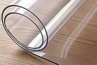 Силиконовое покрытие мягкое стекло толщина 2.5 мм ширина 0,6 м на МЕТРАЖ