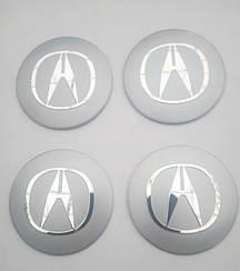 Наклейка выпуклая на колпачок диска Acura 56 мм