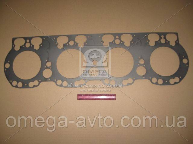 Прокладка головки блока ЯМЗ 7511 (общая головка) металлическ. (ЯМЗ) 238Д-1003212