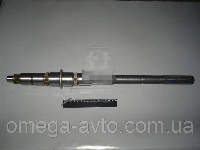 Вал вторинний КПП ГАЗ 3302, Газель, 2217, 31029 5-ст. не зб. (ГАЗ) 3302, Газель 7-1701105