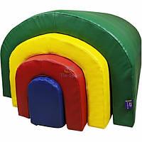 Набор Монтессори: тоннели и брус