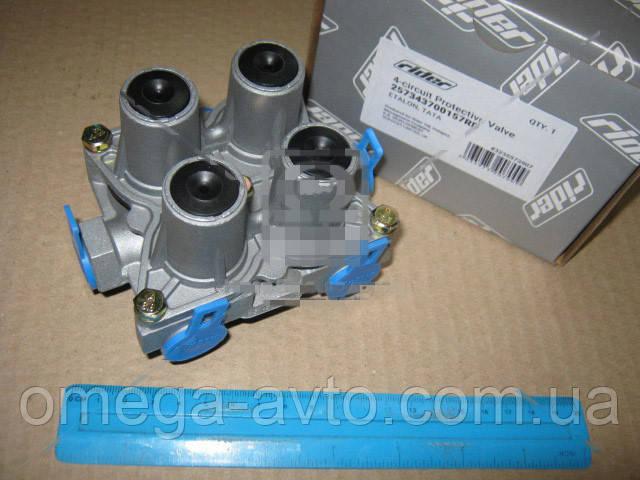 Клапан защитный 4-х контурный Эталон, ТАТА (RIDER) 257343700157RD