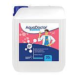 Жидкий дезинфектант на основе активного кислорода AquaDoctor Water Shock О2, Аквадоктор, 20л, фото 2