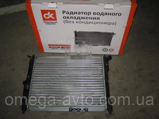 Радиатор охлаждения DAEWOO LANOS (без кондиционера) (Дорожная карта) 96351263