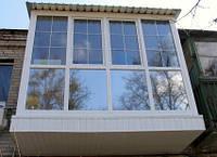 Балкон Полноростовой Остекление в Кропивницком
