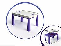 Стол детский с насадкой для аэрохоккея Doloni фиолетовый, 04580/4