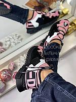 Креативные женские кеды DOLCE & GABBANA (реплика), фото 1
