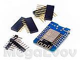 WeMos D1 mini WiFi плата на базе ESP8266 + CH340G для Arduino и других платформ., фото 2