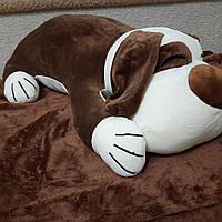 Игрушка плед подушка Собачка
