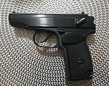 Пистолет Макарова мр654к новая 32серия