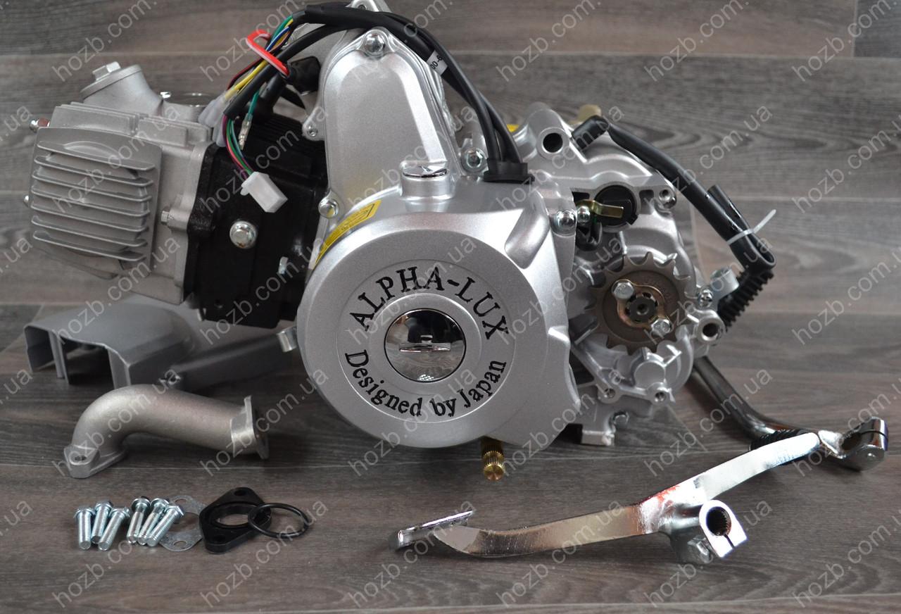 Двигатель на мопед Альфа; Дельта 110 куб, механика