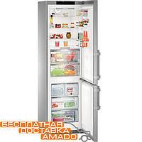 Комбинированный холодильник Liebherr - морозильник с камерой BioFresh CBNPes 4878