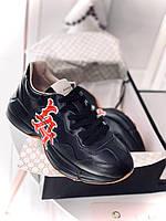 Модные женские кроссы Gucci Rhyton (реплика), фото 1