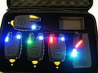 Набор Сигнализаторов Поклевки Carp Cruiser FA210-4 (4+1) с беспроводным радио пейджером продажа в Украине, фото 1