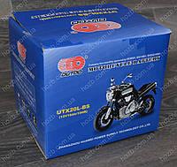 Аккумулятор 12V 18Аh кислотный (170x85x150), черный, mod:UTX 20L-BS) (+электролит) OUTDO, фото 1