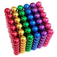 Головоломка Неокуб NeoCube / Конструктор Головоломка Радуга цветной 5мм 216 шаров\ логическая игра