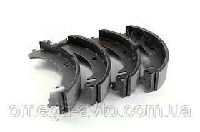 Колодки тормозные ВАЗ 2101-2107 задние (комплект 4шт.) (Rider) 2101-3502090