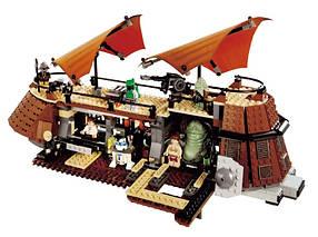 Конструктор JVToy 26002 Парусник Джаббы. Звездные приключения (аналог Lego Star Wars 6210)