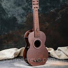 """Деревянный мини-бар """"Гитара"""" 52 см."""
