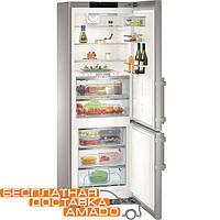 Комбинированный холодильник Liebherr - морозильник с камерой BioFresh CBNPes 5758