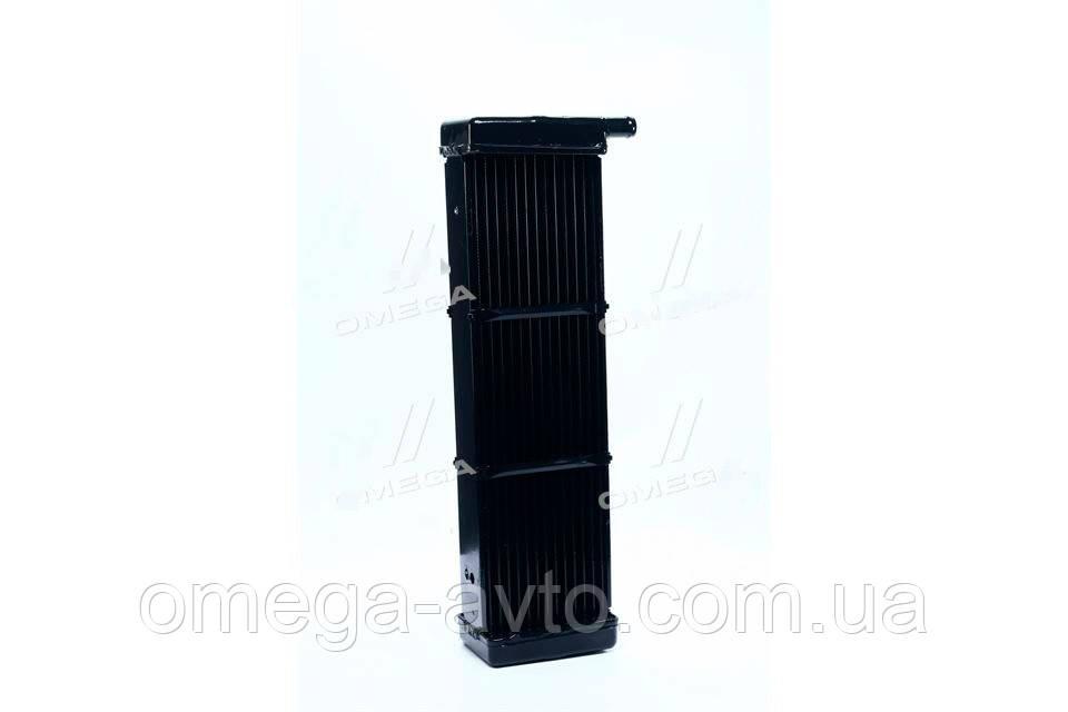 Радиатор отопителя (печки) УАЗ 3741 (медный) (3-х рядный) патрубок 20мм (ШААЗ) 73-8101060