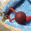 Канат грейфер с узлом, большой мячик