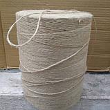 Шпагат джутовый 2 мм (10кг-9000м), фото 5