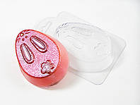 Пластиковая формочка для мыла Яйцо-кролик