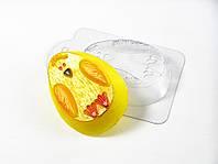 Пластиковая формочка для мыла Яйцо-цыпленок