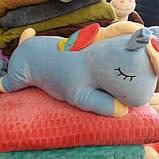 Дитячий плед іграшка Єдиноріг, фото 4