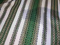 Рушникова тканина зелена