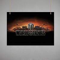 Постер: World of Tanks (Макет №1)