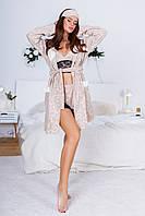 Набор Пижама -шикарный топ плюс шортики, Размеры 42-44 46-48, 4 цвета, код 0619, фото 2
