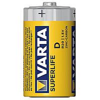 Батарейка Varta Superlife D R20 1.5V Zinc-Carbon, Yellow