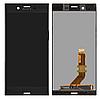 Дисплей (экран) для Sony G8141 Xperia XZ Premium/G8142 + тачскрин, черный, Deepsea Black
