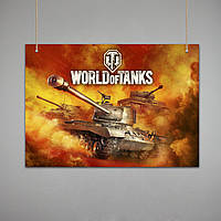 Постер: World of Tanks (Макет №3)