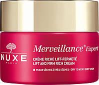 Питательный крем от морщин для упругости кожи Нюкс Nuxe Anti-Wrinkle Cream MerveillanceExpert Enrichie