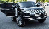 Дитячий електромобіль Ренж Ровер Land Rover Range Rover M 4175EBLR-2 чорний (білий, червоний), двомісний.
