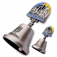 Металлический колокольчик сувенир Киев