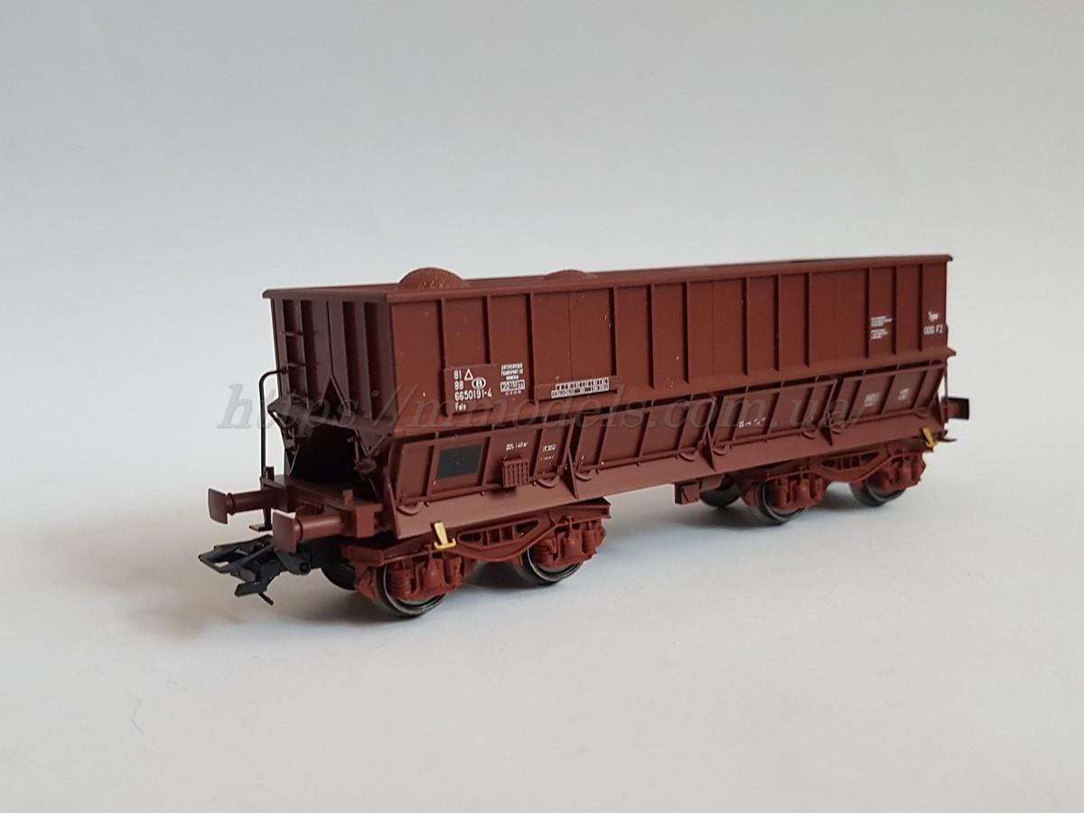 Marklin 00768-05 модель 4х осного вагона для первозки минералов, масштаба 1:87,H0